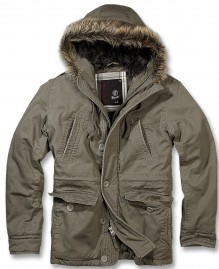 Army Herren winter jacke Explorer vintage