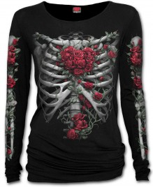 Damen Shirt ROSE BONES