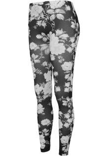 Damen Leggings Blumen