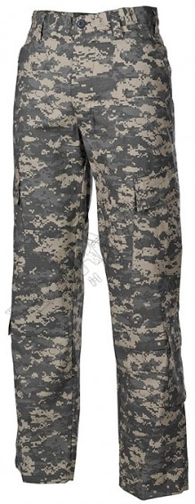 US army tacktische camouflage Feldhose, ACU Rip Stop