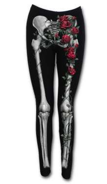 Leggings ROSE BONES
