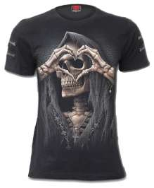 Damen T-shirt DARK LOVE