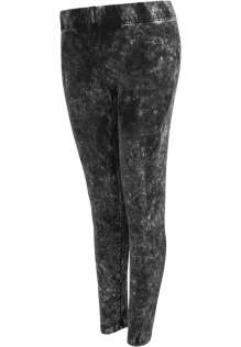 Damen Leggings Acid Wash