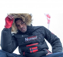 Herren Winter Jacke Geographical Norway Axpedition