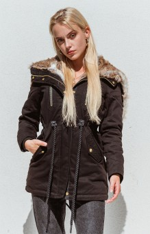 Damen Winter Jacke Navahoo Diana