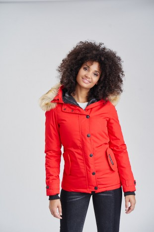 Navahoo Damen Winter Jacke LAURA