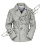 Herrenjacke US Pea Coat - Grau